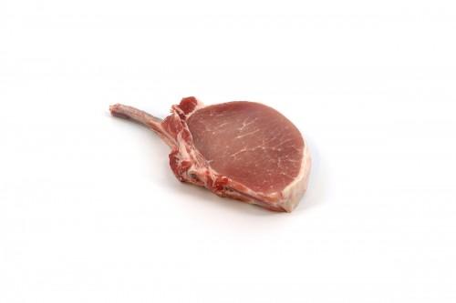 410233 Pork Rack 10 Rib CC Frenched Chop Ready 412G PSO 10 v2